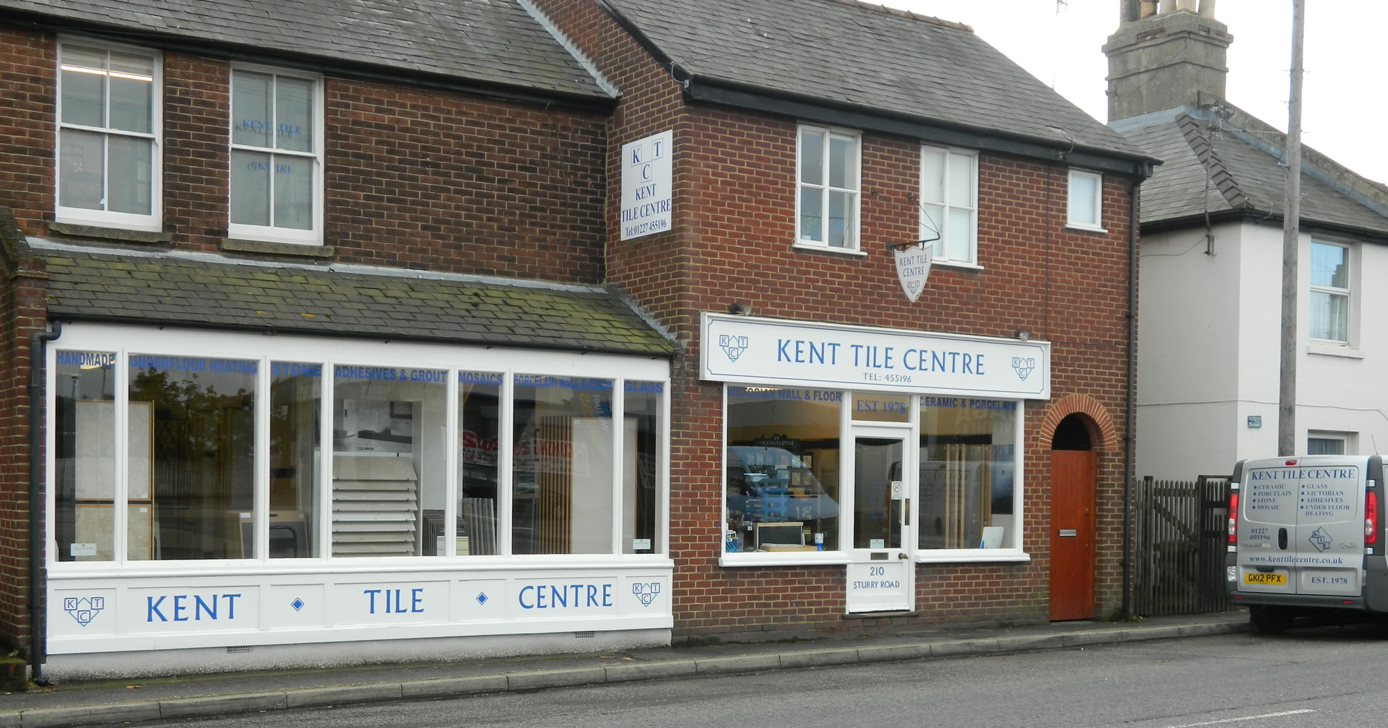 kent tile centre in canterbury showrooms